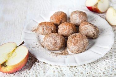 Celozrnné jablkové knedlíčky