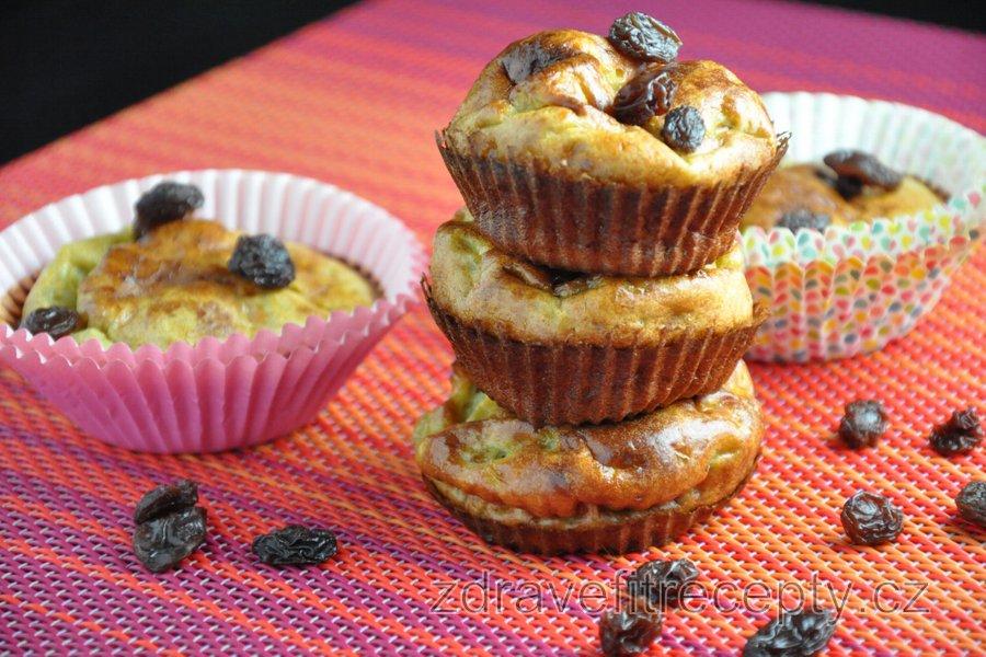 Jednoduché fitness banánové muffiny (bez mouky a cukru)