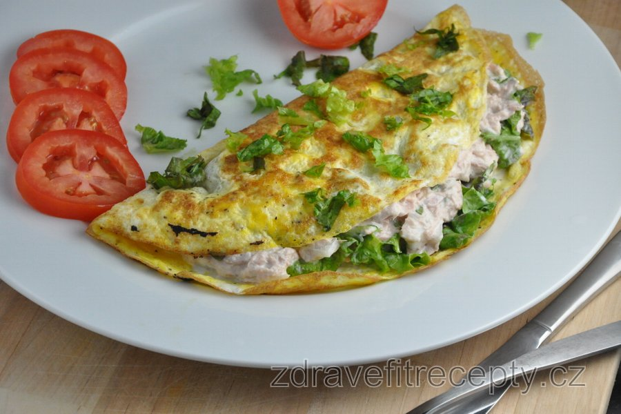 Nejlepší fitness tuňáková omeleta