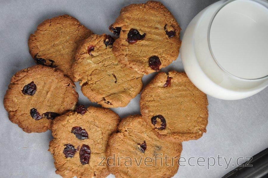 Nejlepší zdravé křupavé cizrnové cookies bez mouky