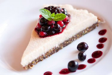 Zdravý RAW Vegan Cheesecake