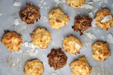 Zdravé kokosové makronky