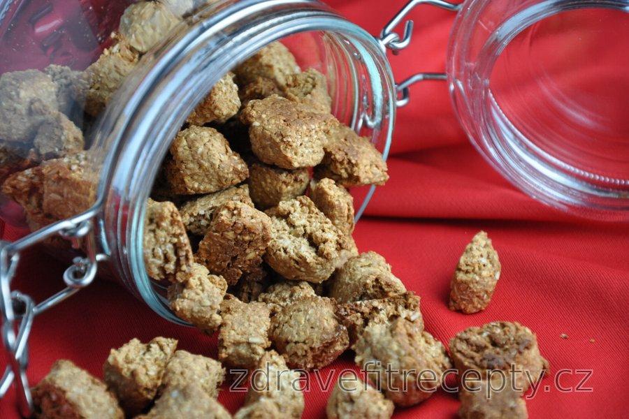 Zdravé vánoční/nevánoční perníkové sušenky