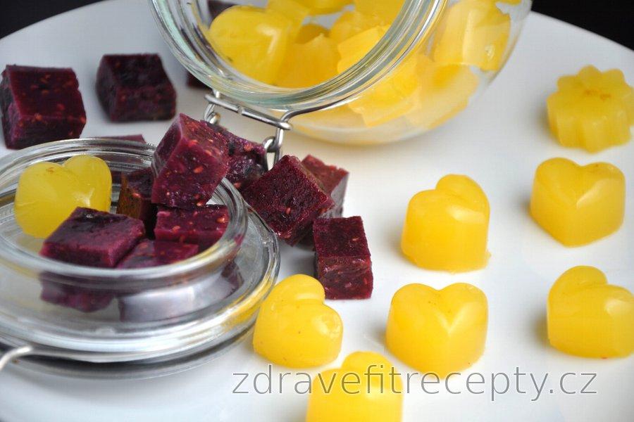 Zdravé domácí želé bonbony