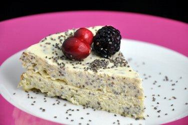 Cottage koláč s mákem nebo chia semínky
