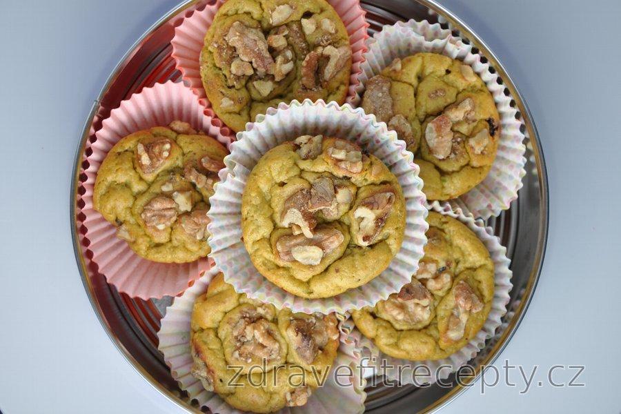 Avokádové muffiny z cizrnové nebo ovesné mouky