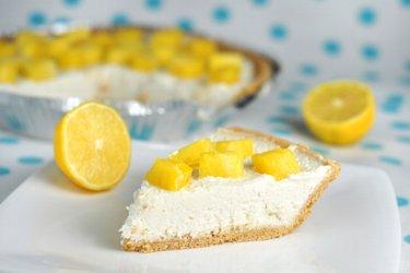 Výborný nepečený citronový cheesecake