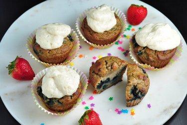 Zdravé muffiny z kokosové mouky