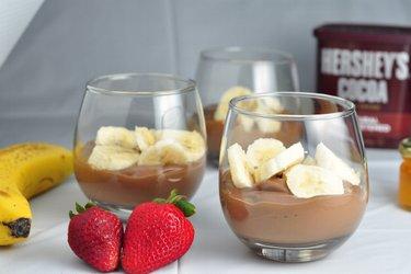 Zdravé banány v čokoládě