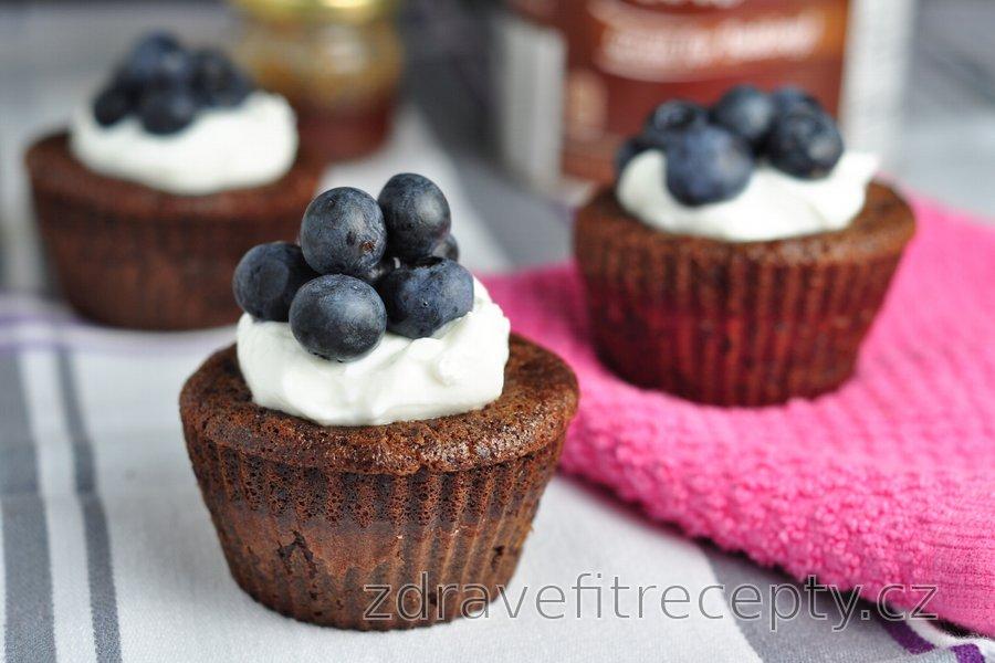 Kakaové muffiny z 5 ingrediencí