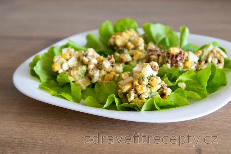 Výborný avokádovo-vajíčkový salát
