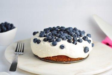 Kokosový dort s tvarohovo-vanilkovým krémem