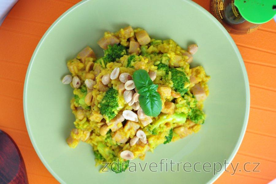 Brokolicová rýže