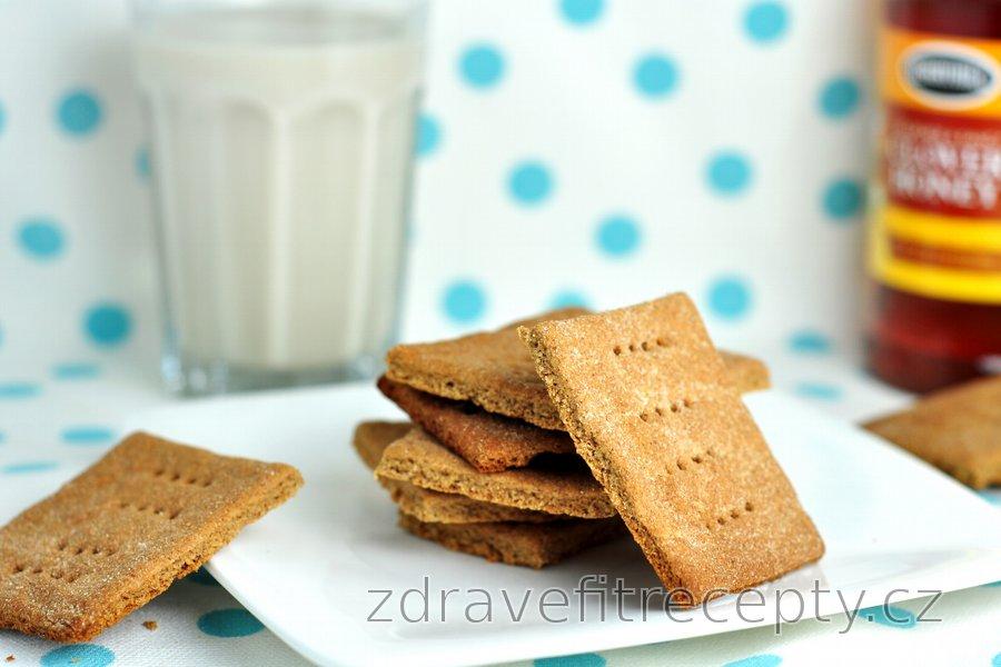 Pohankové/grahamové sušenky s medem