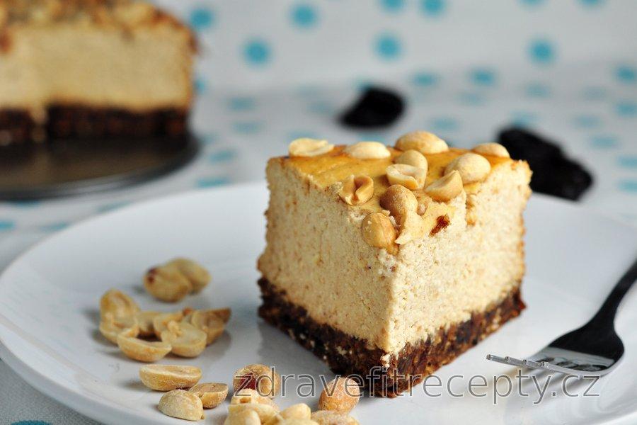 Tvarohovo-arašídový koláč