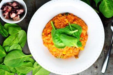 Vynikající rajčatové rizoto