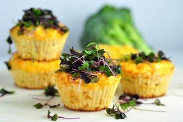 Nízkosacharidové sýrové muffiny