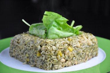 Výborné kuřecí rizoto se špenátem