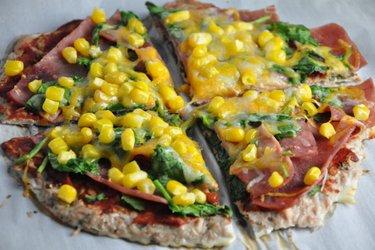 Fitness tuňáková pizza