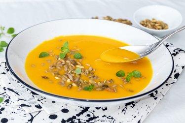 Dýňová hokkaido polévka