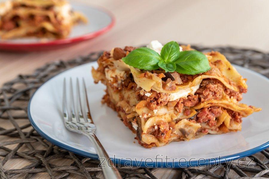 Jednoduché lasagne se zeleninou