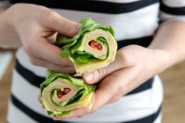 Salátový wrap - low carb