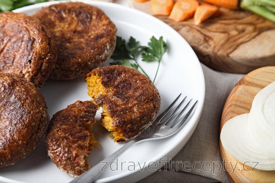 Pečené mrkvové karbanátky