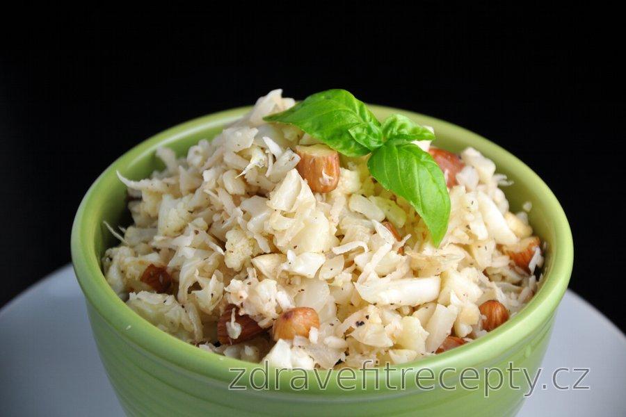 Kokosovo-květákové rizoto bez rýže