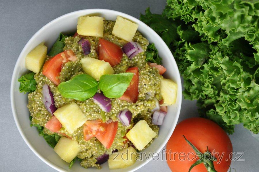 Quinoa v guacamole