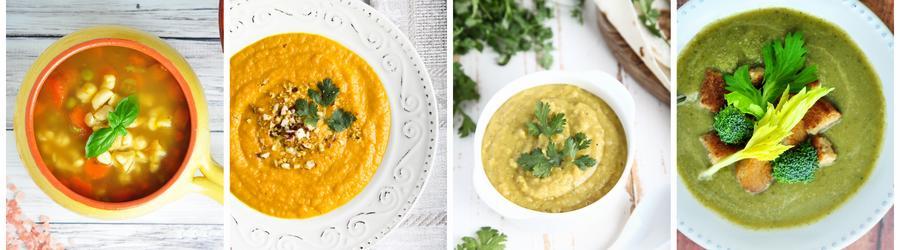 Dietní recepty na polévky