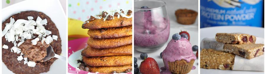 Proteinový prášek - fitness recepty s proteinovým práškem
