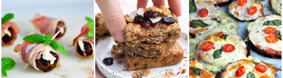 Recepty na fitness snack s vysokým obsahem bílkovin