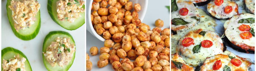 Recepty na nízkokalorický a dietní snack