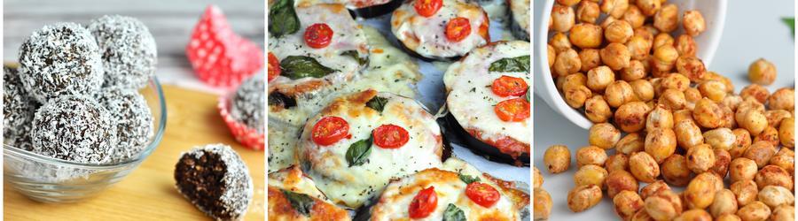 Zdravé snack recepty bez mouky a lepku