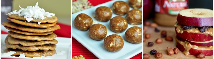 Recepty na snack s arašídovým máslem