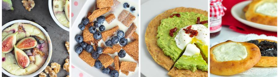 Zdravé snídaně - recepty