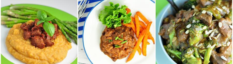 Hovězí maso - fitness recepty s vysokým obsahem bílkovin