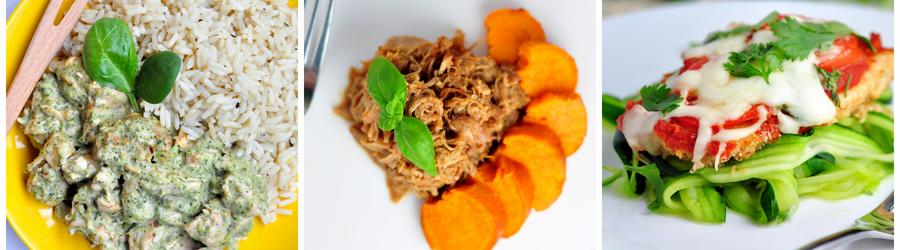 Recepty s kuřecím masem bez mouky a lepku