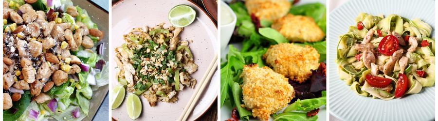 Nízkotučné recepty s kuřecím masem