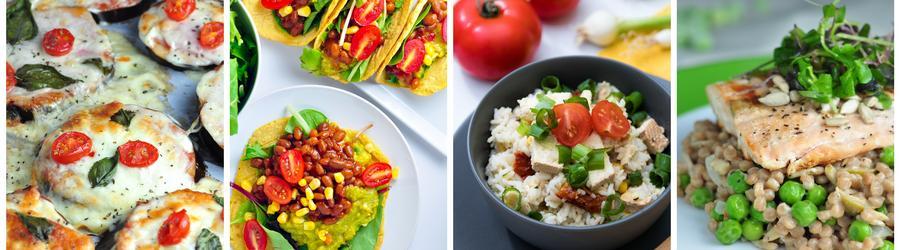 Zdravé recepty na oběd a večeři
