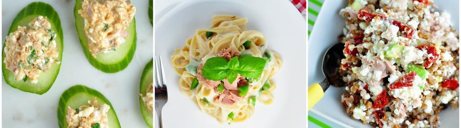 Nízkotučné fit recepty s tuňákem