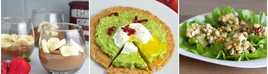 Fitness recepty s avokádem a vysokým obsahem bílkovin