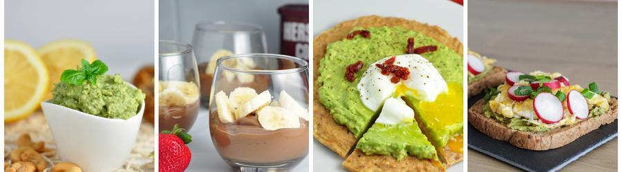 Dietní nízkokalorické recepty s avokádem