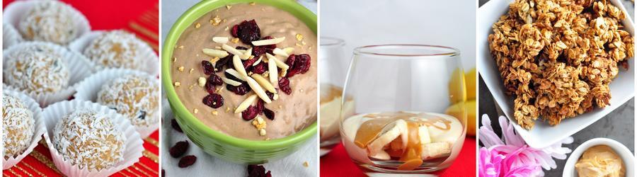 Fitness recepty s arašídovým máslem a proteinem