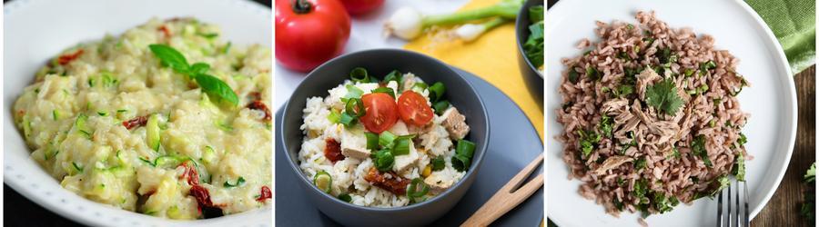 Fitness recepty s rýží
