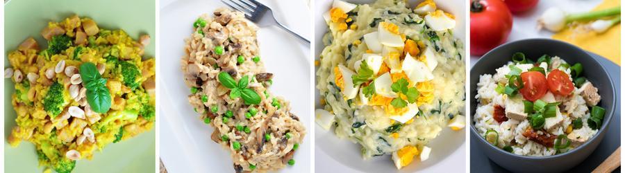 Bezlepkové fit recepty s rýží