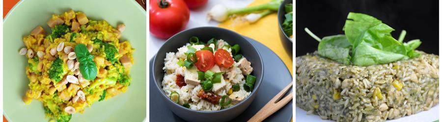 Zdravé vegan recepty s rýží
