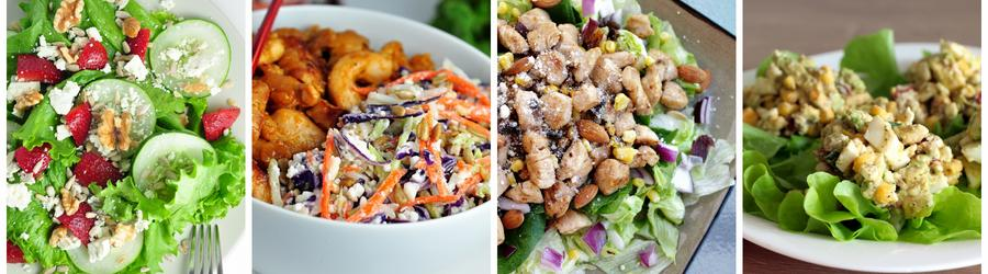 Fit recepty na zdravé saláty