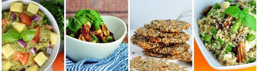 Zdravé vegan recepty s quinoou