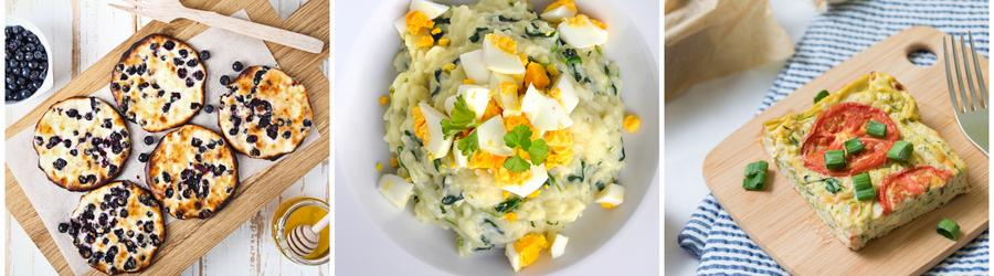 Fitness recepty s vejci a vysokým obsahem bílkovin